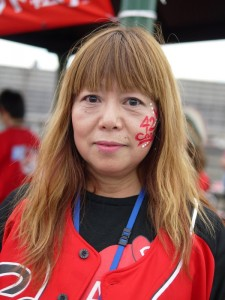 広島フェイスペイント組合-カープ