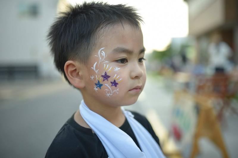 広島フェイスペイント組合-ひゅーるぽん夜市-017
