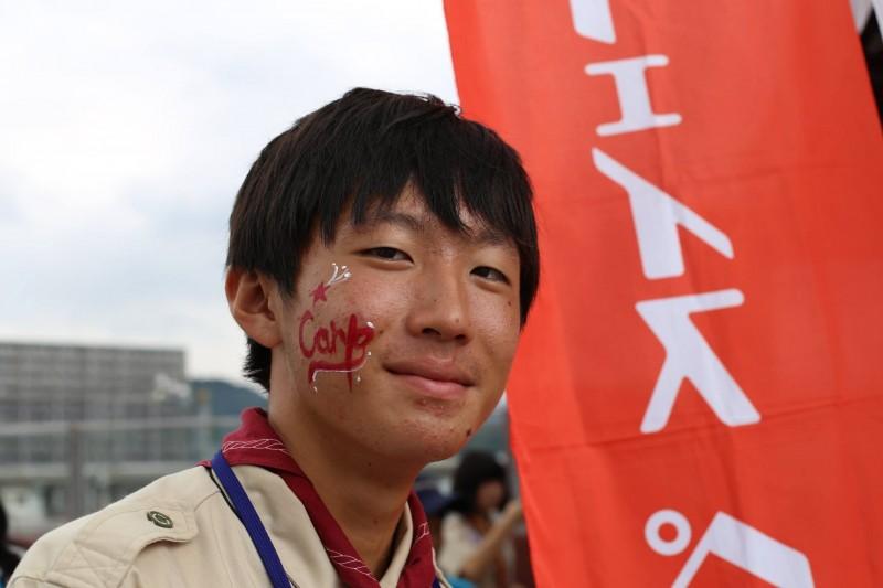 広島フェイスペイント組合-unitar-carp-jica-2016-0015
