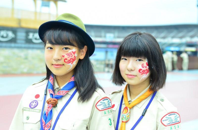 広島フェイスペイント組合-unitar-carp-jica-2016-0017
