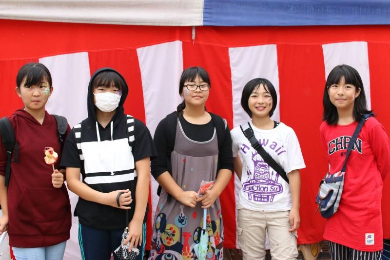 広島フェイスペイント組合-第82回筆まつり-008