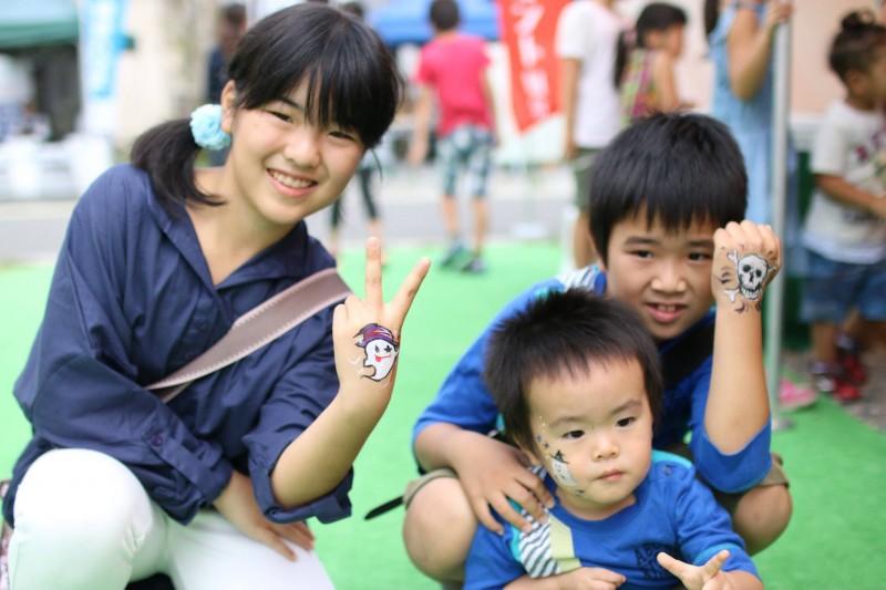 広島フェイスペイント組合-こころ住宅展示場1-0013