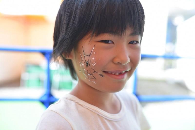 広島フェイスペイント組合-こころ住宅展示場2-0009