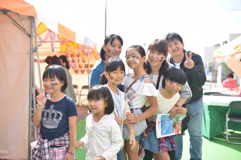 広島フェイスペイント組合-こころ住宅展示場2-0012