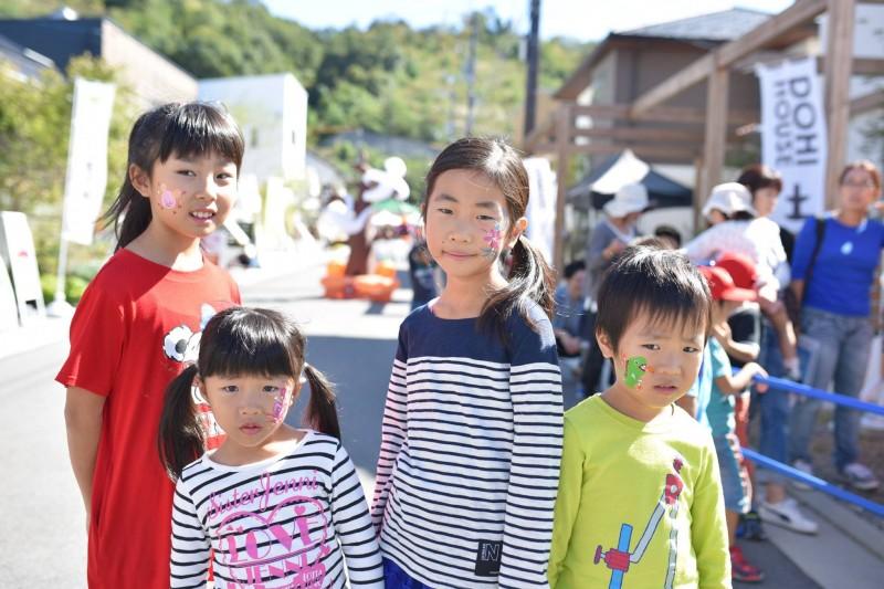 広島フェイスペイント組合-こころ住宅展示場3-0013