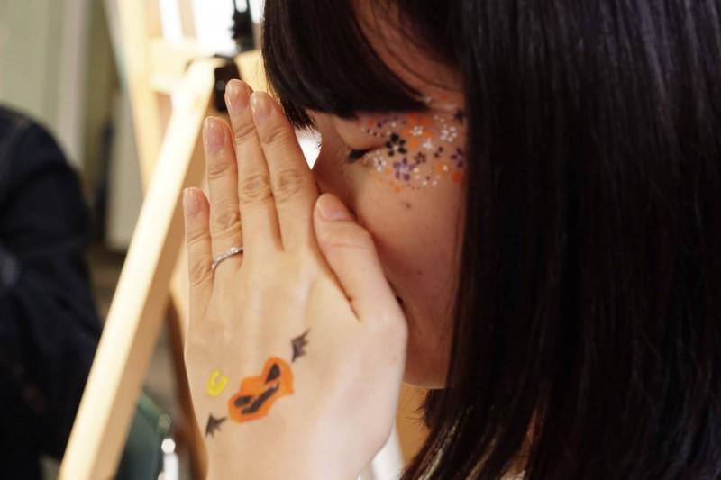 広島フェイスペイント組合-tokyu-hands-h2-012