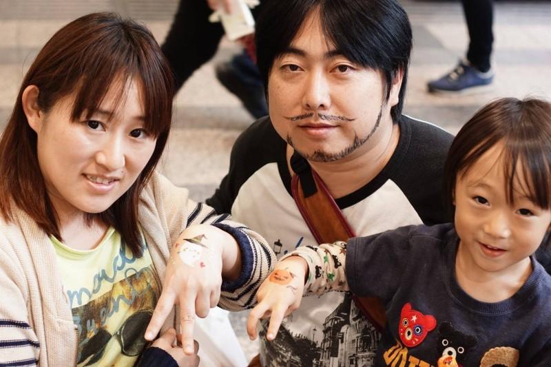 広島フェイスペイント組合-tokyu-hands-h2-013