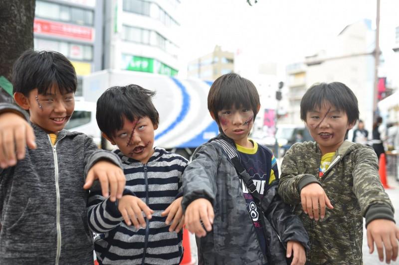 広島フェイスペイント組合-横川ゾンビナイト2-1-0007