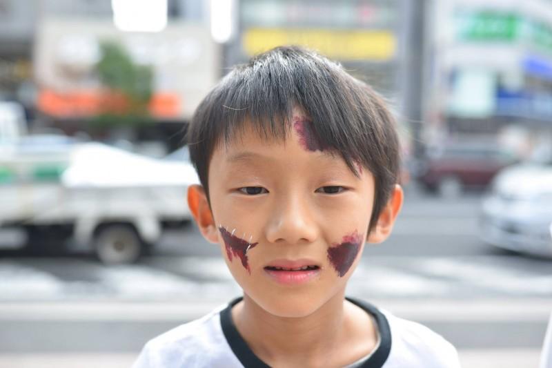 広島フェイスペイント組合-横川ゾンビナイト2-1-0010
