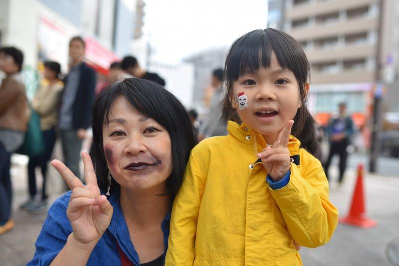 広島フェイスペイント組合-横川ゾンビナイト2-1-0023