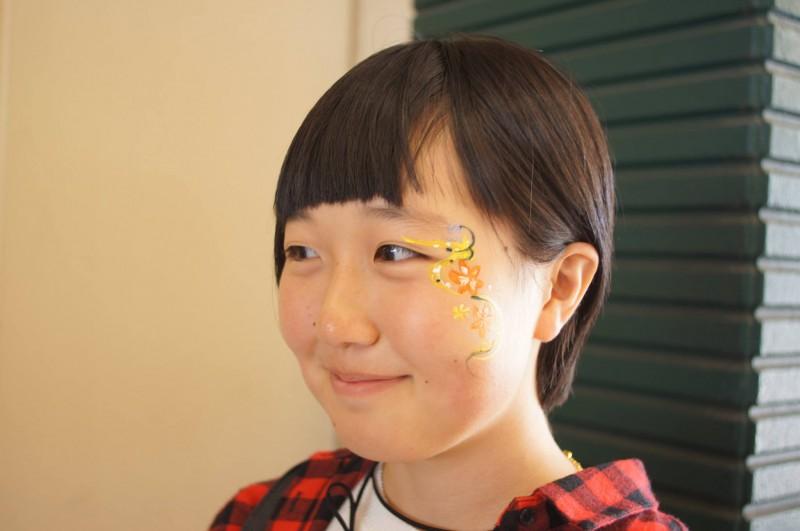 広島フェイスペイント組合-カジル岩国ハロウィン2016-006
