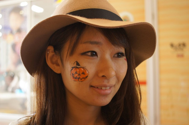 広島フェイスペイント組合-カジル岩国ハロウィン2016-017