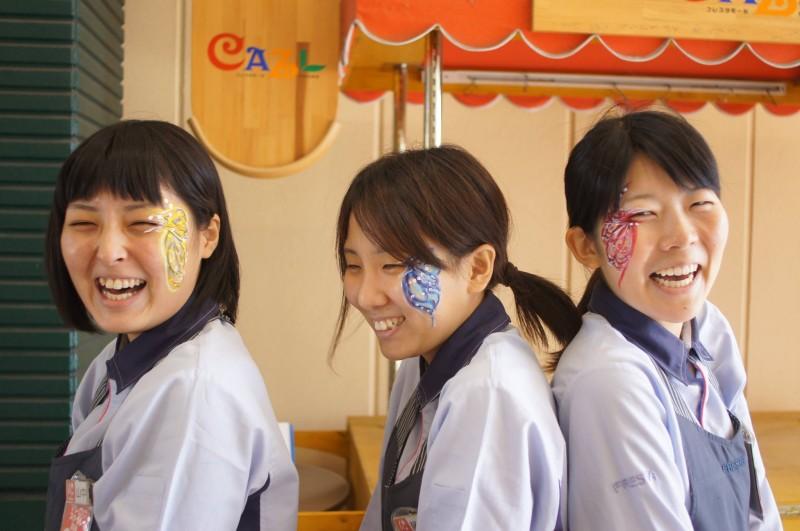 広島フェイスペイント組合-カジル岩国ハロウィン2016-022