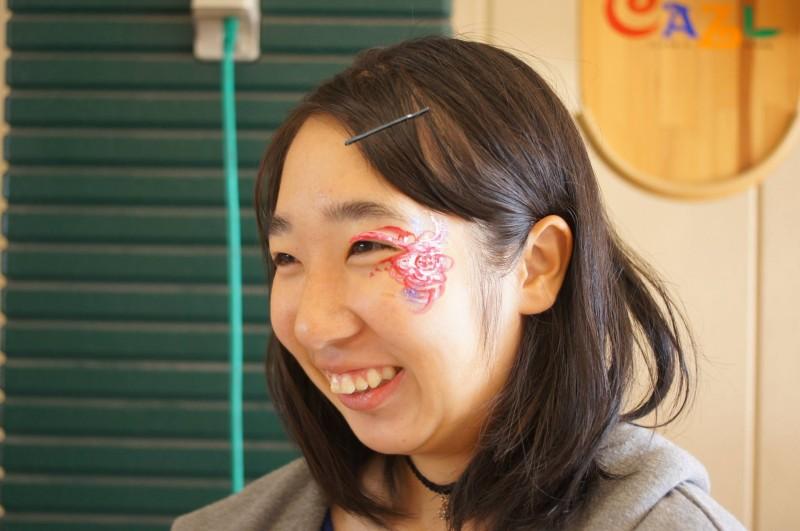 広島フェイスペイント組合-カジル岩国ハロウィン2016-027