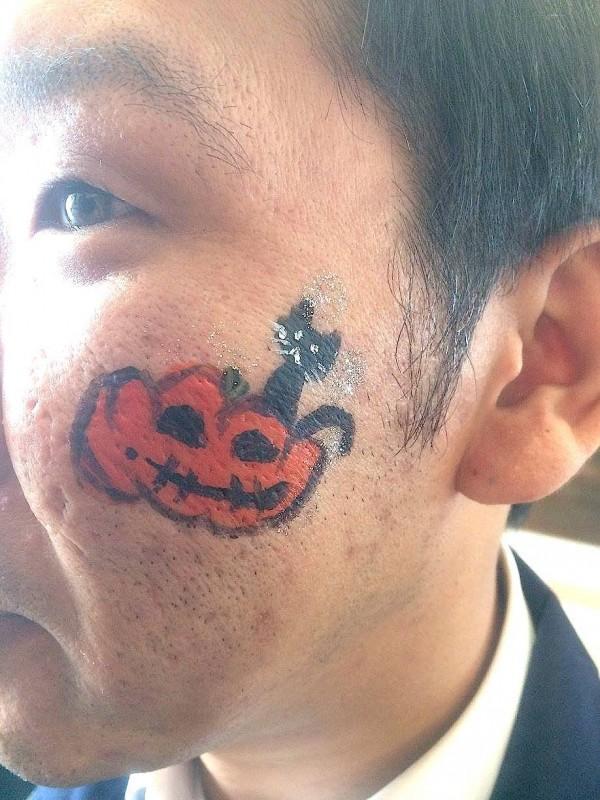 広島フェイスペイント組合-カジル岩国ハロウィン2016-041
