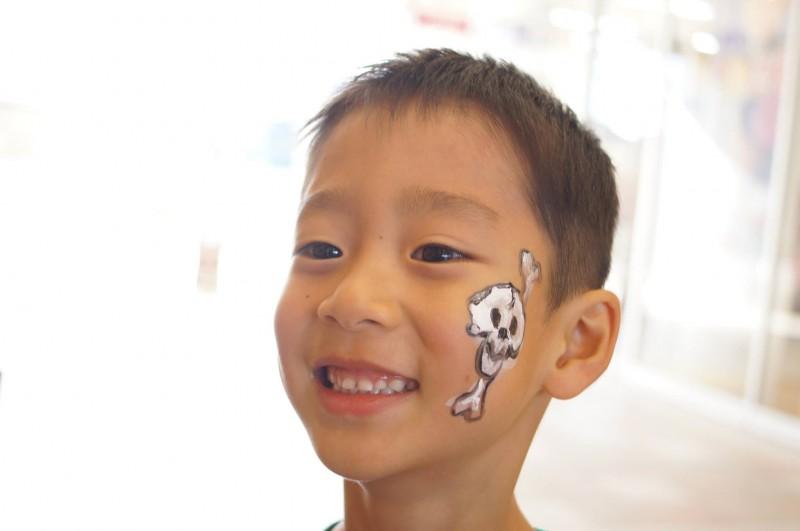 広島フェイスペイント組合-カジル岩国ハロウィン2016-051