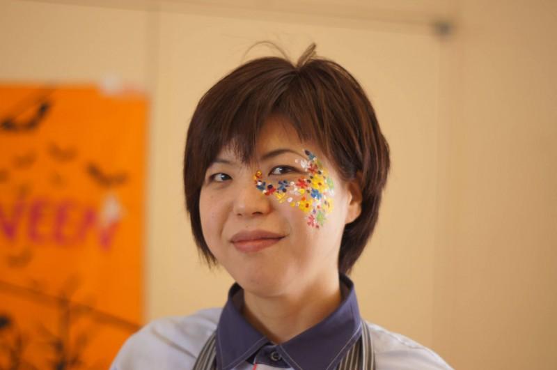 広島フェイスペイント組合-カジル岩国ハロウィン2016-058
