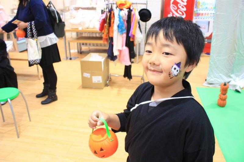 広島フェイスペイント組合-2016ハロウィンキッズ-012
