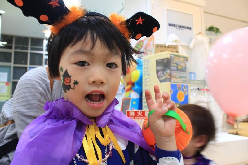 広島フェイスペイント組合-2016ハロウィンキッズ-040