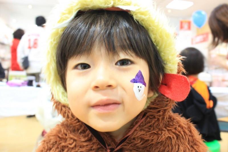 広島フェイスペイント組合-2016ハロウィンキッズ-041