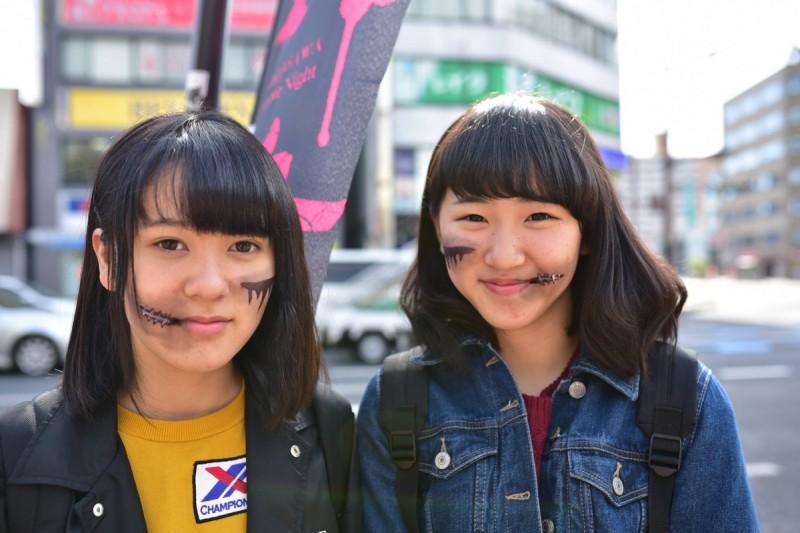 広島フェイスペイント組合-横川ゾンビナイト2-2-0012