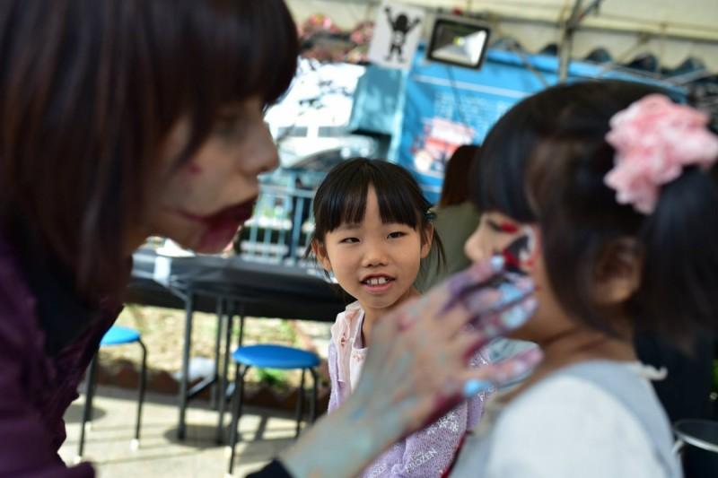 広島フェイスペイント組合-横川ゾンビナイト2-2-0015