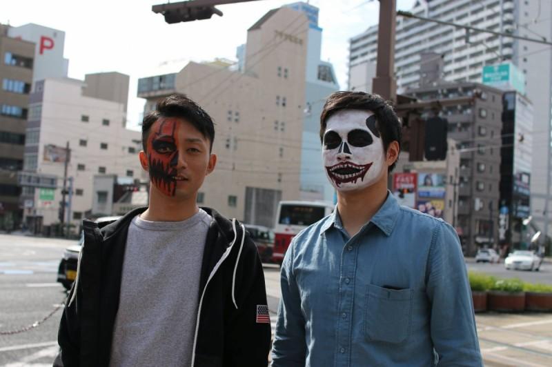 広島フェイスペイント組合-横川ゾンビナイト2-2-0066