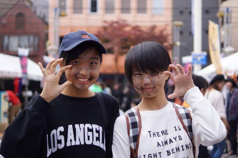 広島フェイスペイント組合-横川ゾンビナイト2-2-0084