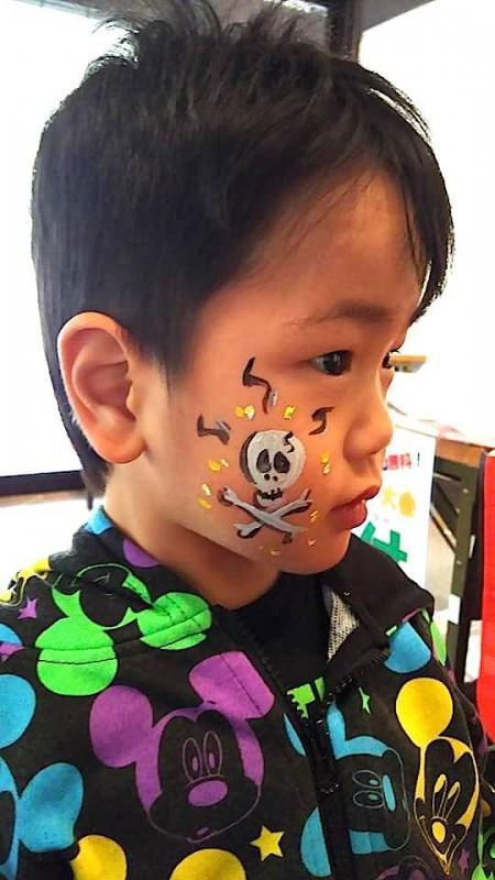 広島フェイスペイント組合-吉和魅惑の里Happy Halloween Party-004