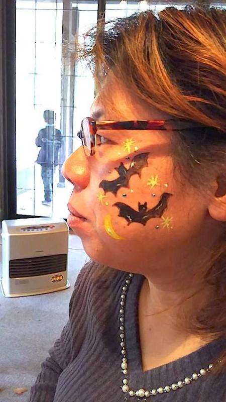 広島フェイスペイント組合-吉和魅惑の里Happy Halloween Party-005