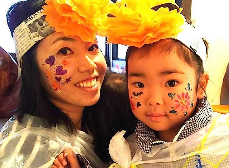広島フェイスペイント組合-吉和魅惑の里Happy Halloween Party-009