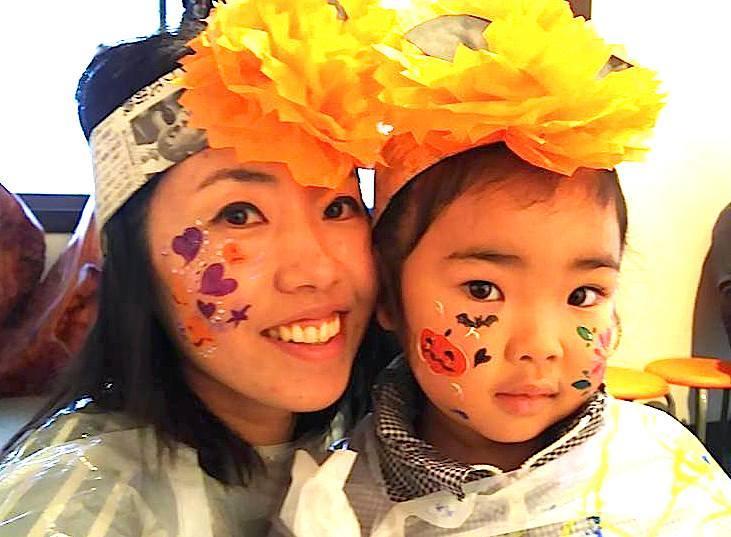広島フェイスペイント組合-吉和魅惑の里Happy Halloween Party-010
