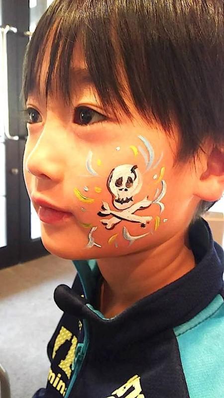 広島フェイスペイント組合-吉和魅惑の里Happy Halloween Party-012