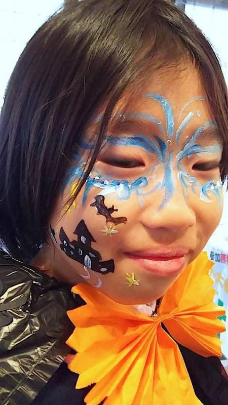 広島フェイスペイント組合-吉和魅惑の里Happy Halloween Party-017