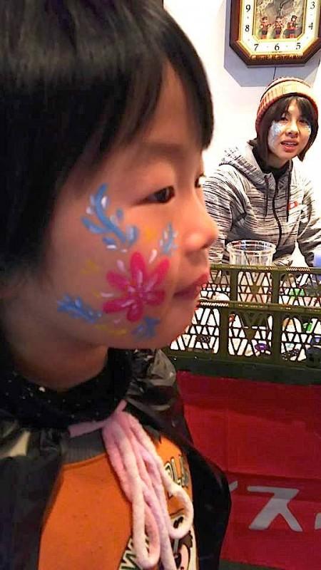 広島フェイスペイント組合-吉和魅惑の里Happy Halloween Party-019