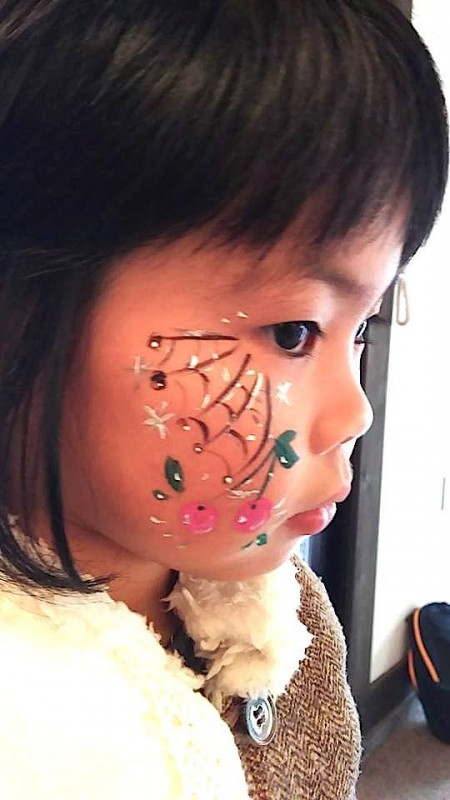 広島フェイスペイント組合-吉和魅惑の里Happy Halloween Party-026