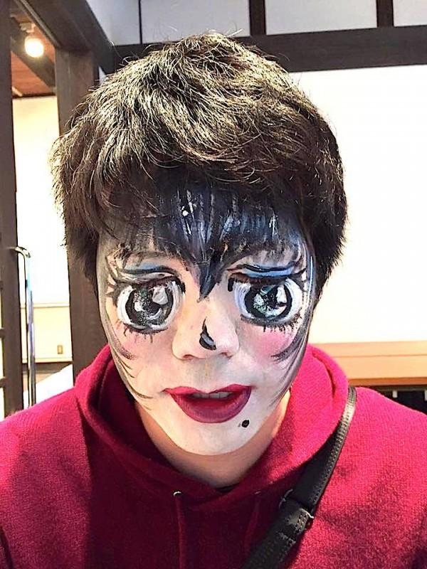 広島フェイスペイント組合-吉和魅惑の里Happy Halloween Party-032