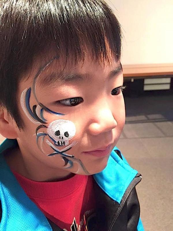 広島フェイスペイント組合-吉和魅惑の里Happy Halloween Party-037