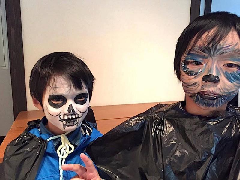 広島フェイスペイント組合-吉和魅惑の里Happy Halloween Party-039
