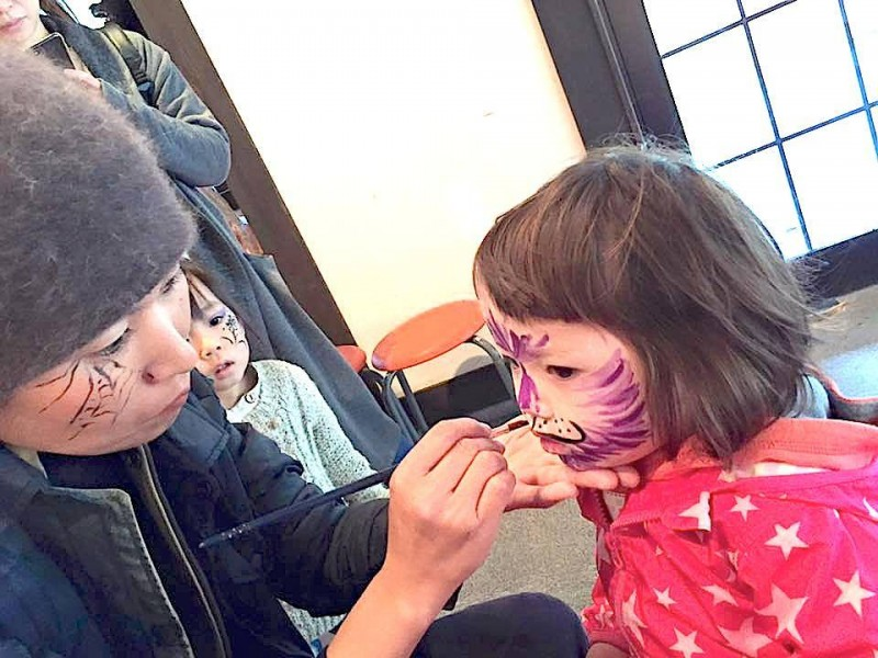 広島フェイスペイント組合-吉和魅惑の里Happy Halloween Party-041