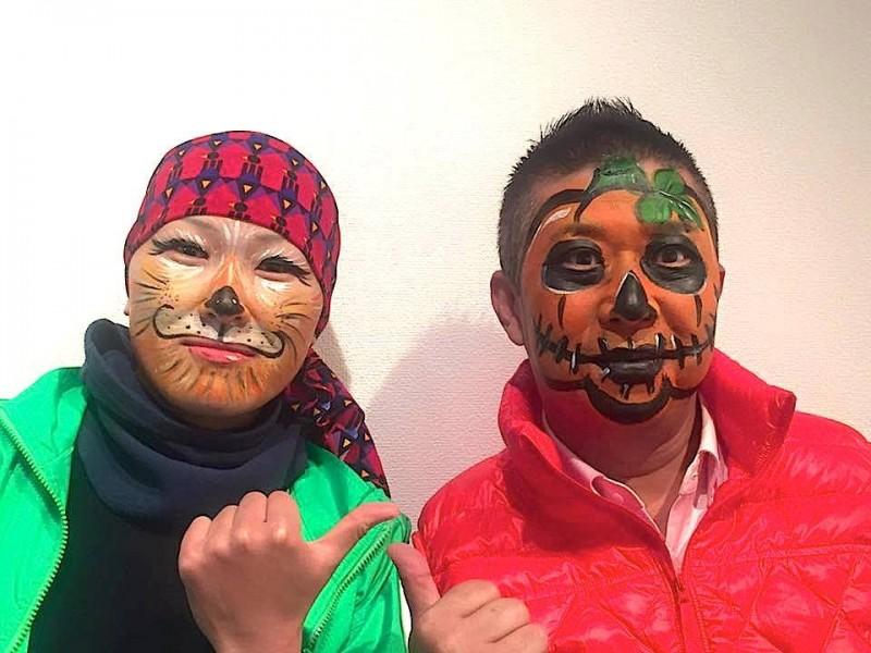 広島フェイスペイント組合-吉和魅惑の里Happy Halloween Party-049