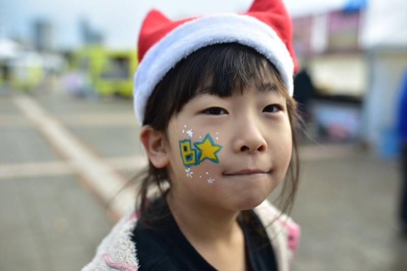 広島フェイスペイント組合-クリスマスHAPPYリレーラン2016-003