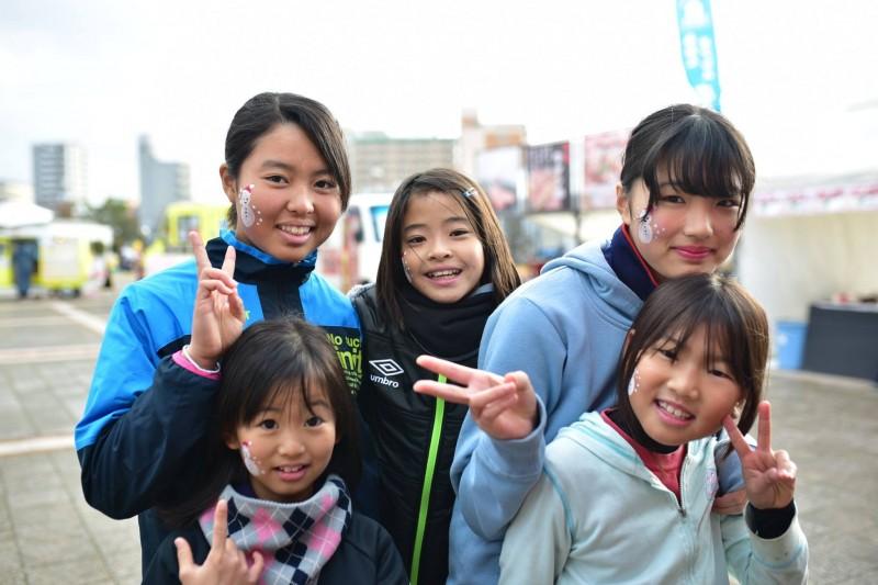 広島フェイスペイント組合-クリスマスHAPPYリレーラン2016-009