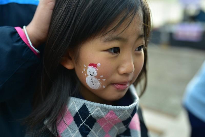 広島フェイスペイント組合-クリスマスHAPPYリレーラン2016-010