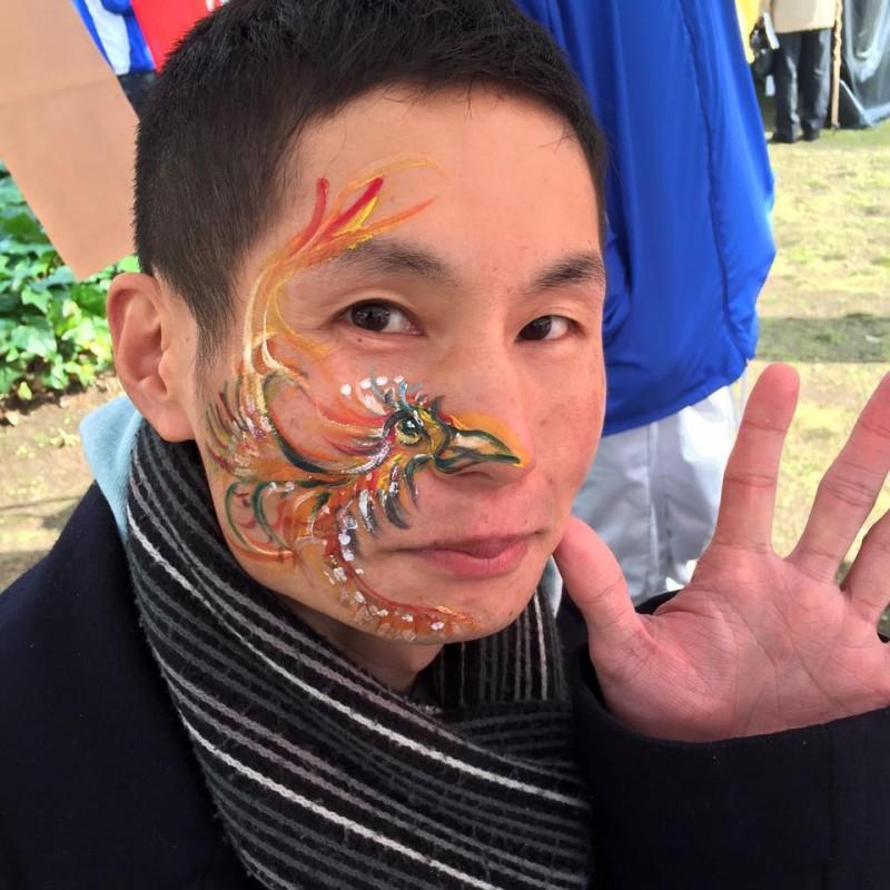 広島フェイスペイント組合-青空ギャラリー2017-006