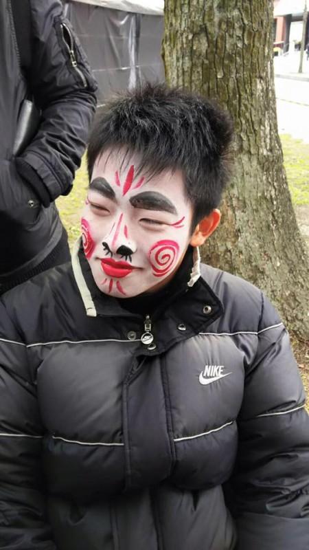 広島フェイスペイント組合-青空ギャラリー2017-010
