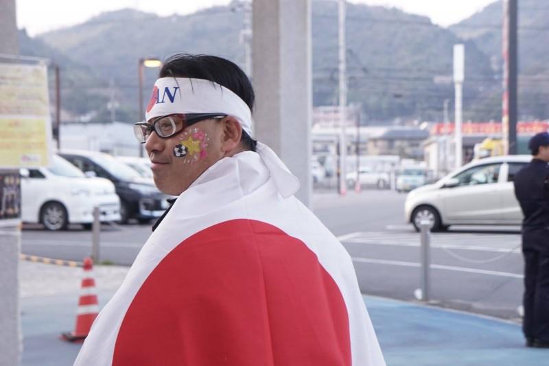 広島フェイスペイント組合-カジル岩国W杯予選-013