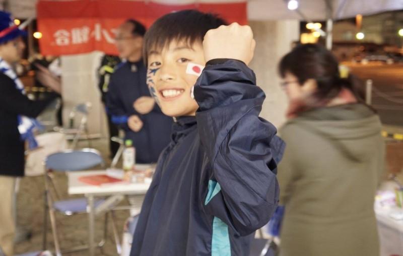広島フェイスペイント組合-カジル岩国W杯予選-023