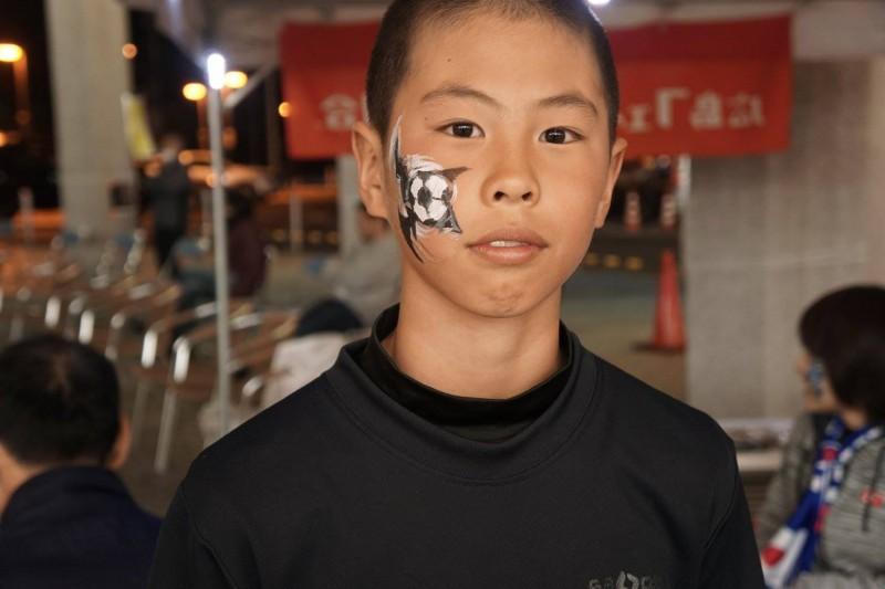 広島フェイスペイント組合-カジル岩国W杯予選-026