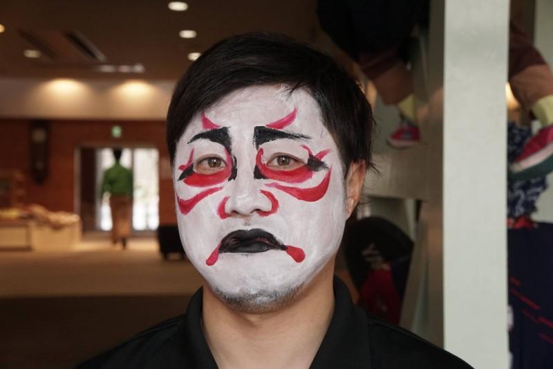 広島フェイスペイント組合-吉和魅惑の里-水仙まつり2017-006